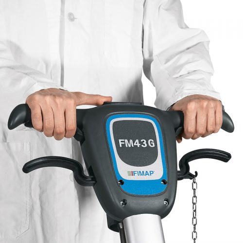 Fimap FM43 Eenschijfsmachine hendels